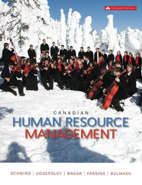 Canadian Human Resource Management 11th 11E