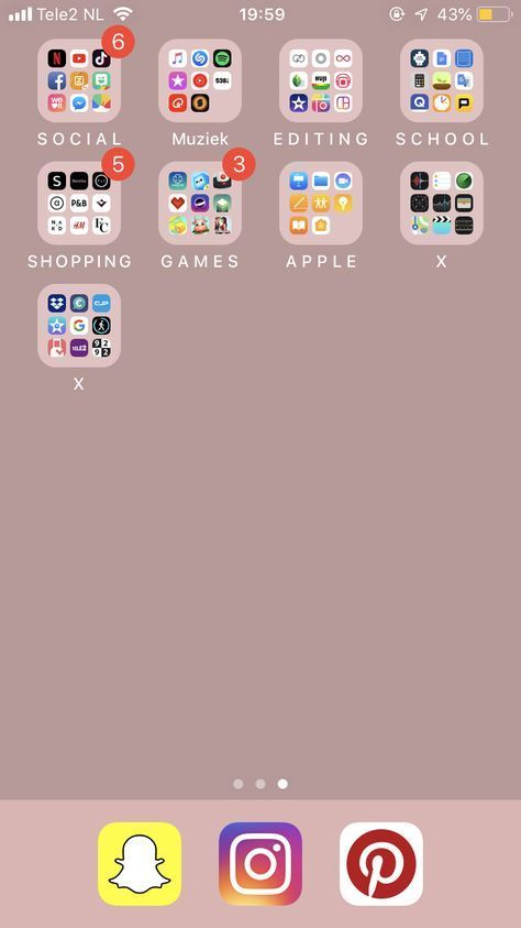 Trendy Home Screen Iphone Layout 30 Ideas In 2020 Iphone App Layout