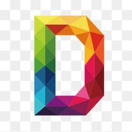 Letter Colour D Vector Diagram Decorate Png Decoration Png Graphics Vector Diagram Png Decoration Graphics Color Clipart L Polygon Art Clipart Letters Clip Art