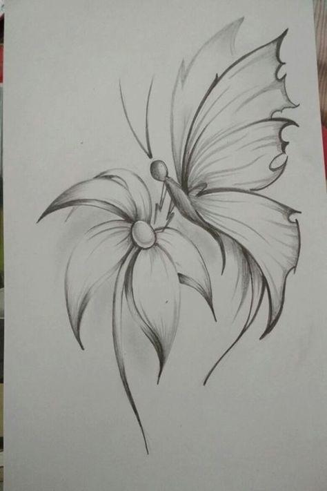 40 Easy Flower Pencil Drawings For Inspiration Flower Art
