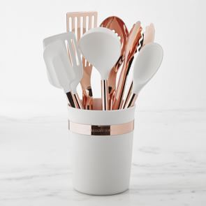 Ultimate Copper Utensils Set Of 8 Copper Utensils Rose Gold