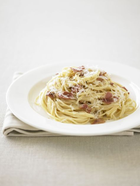 Rachael Ray's Favorite Carbonara Recipe - New Ideas Food Network Recipes, Gourmet Recipes, Appetizer Recipes, Dinner Recipes, Cooking Recipes, Healthy Recipes, Cooking Gadgets, Cooking Tools, Pasta Carbonara