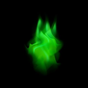 Game Flame Green Flame Png And Vector With Transparent Background For Free Download Em 2020