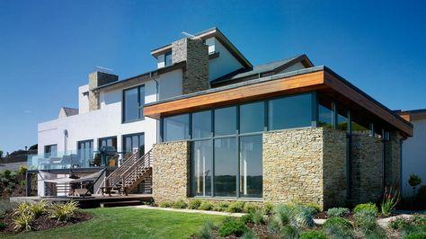 haus modern fassade holz und - Google-Suche häuser Pinterest - Haus Modern