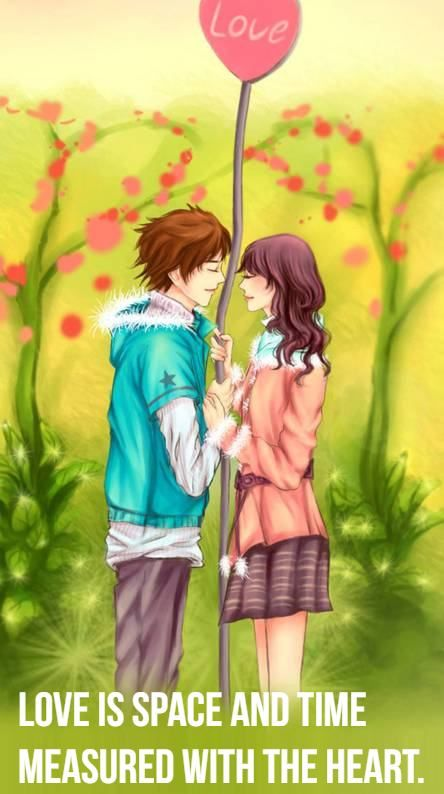 Love Is Quotes Cartoon Love Is Not About How Many Days Weeks Or Months You Ve Been Together Cute Couple Pictures Cartoon Love Couple Wallpaper Cartoons Love