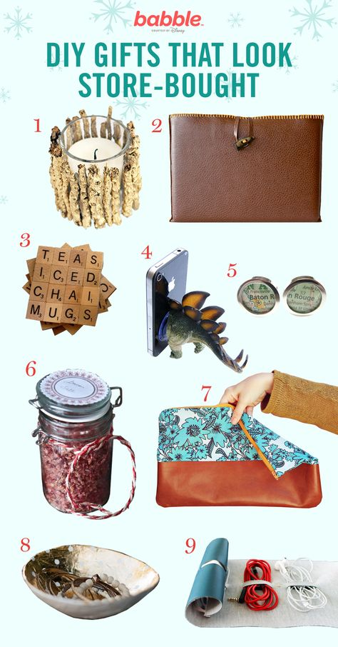 9 DIY Gifts That Look Store-Bought
