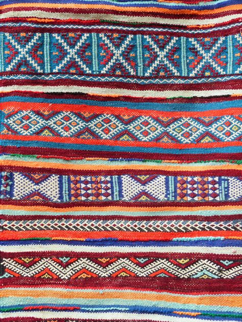 Dancing in the field - flofitzgerald: Morocco: The land of pattern.