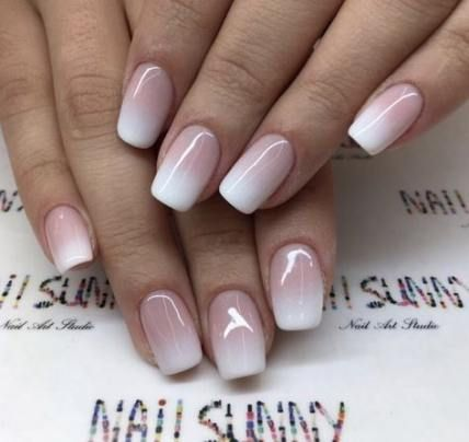 46 Ideas Bridal Nails French Ombre For 2019 Nails Bridal