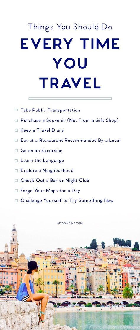 Travel Tips for the next time you travel :: The ultimate travel bucket list