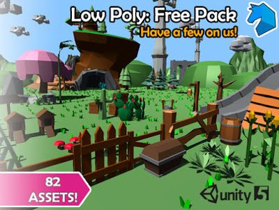 UNITY Low Poly: Free Pack   FREE UNITY SOURCE CODE, UNITY ASSET