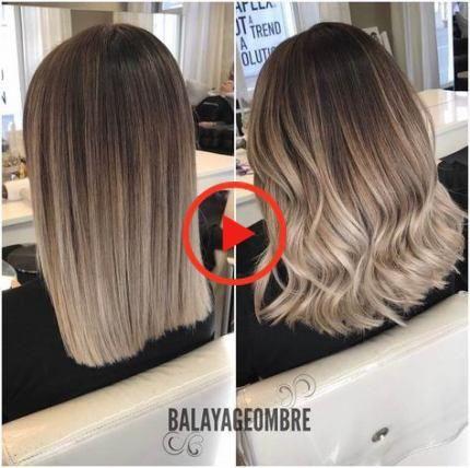 Super Hair Ombre Short Blonde Dark Roots Ideas Ash Blonde Balayage Dark Ash Blonde Balayage Balayage Hair