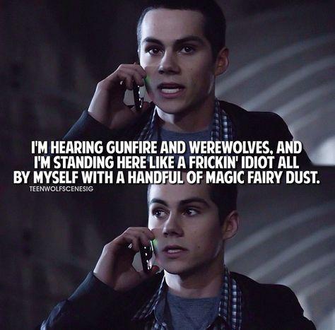 Season 2 Teen Wolf - Stiles - just love his snarkiness :)