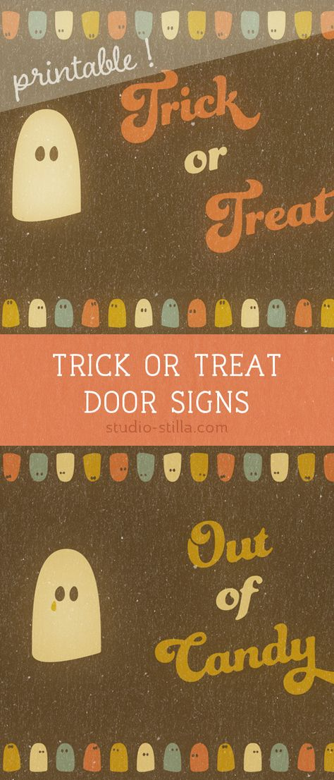 graphic about Trick or Treat Signs Printable identify Record of Pinterest trick or address printable indication visuals