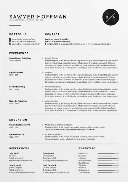Classic Resume Template 120220 Resume Design Best Resume
