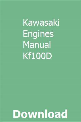 Kawasaki Fh500v Oil Leak