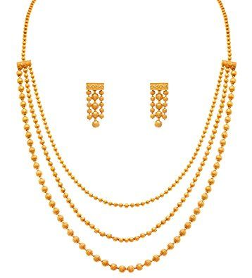 Top 9 Awesome 5 Gram Gold Necklace Designs India Styles At Life Gold Necklace Designs Gold Bead Necklace Gold Jewelry Fashion