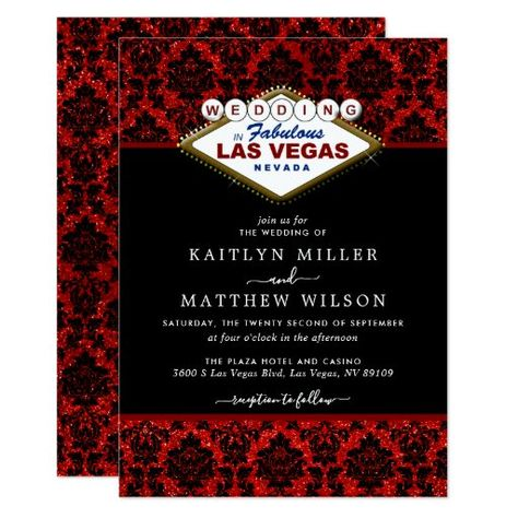 371 Best Las Vegas Wedding Invitations