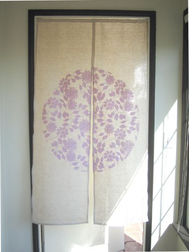 Perfecting The Noren Noren Curtains Door Curtains Fabric Paint