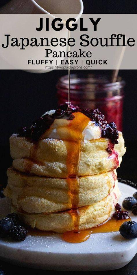 Jiggly Japanese Souffle Pancakes