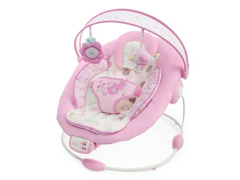 Bright Starts Comfort And Harmony Florabella Pink Bouncer Baby Bouncer Baby Rocker Baby Swings Bouncers