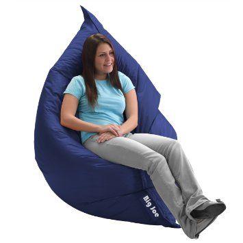 Phenomenal Amazon Com Big Joe Original Bean Bag Chair Sapphire Beatyapartments Chair Design Images Beatyapartmentscom