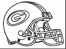 Image Result For Green Bay Packers Coloring Pages Printable Football Coloring Pages Green Bay Packers Helmet Georgia Bulldogs Football
