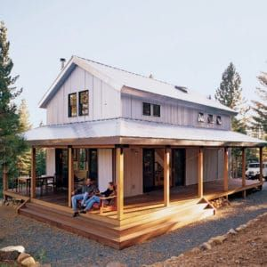 High Sierra Cabin Ii In 2020 Cabin House Plans Small House