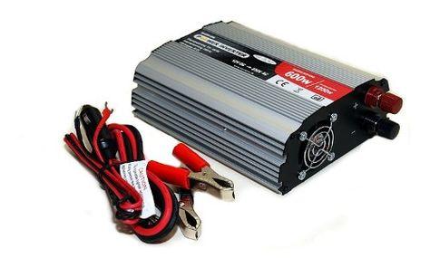 Dc Ac Spannungswandler 12v Auf 230v Bis 600w 1200w Inverter Wechselrichter Usb Spannungswandler Wechselrichter Und Spannung