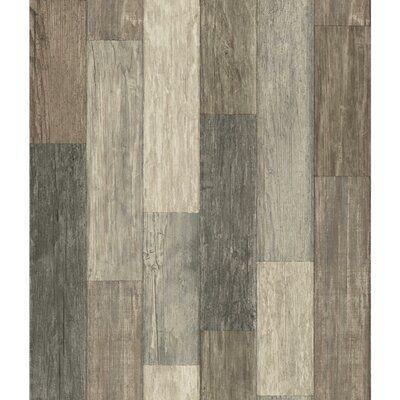 Highland Dunes Chronister Coastal Weathered Plank 16 5 L X 20 5 W Wood And Shiplap Peel And Stick Wallpap Dark Weather Peel And Stick Wallpaper Pallet Boards