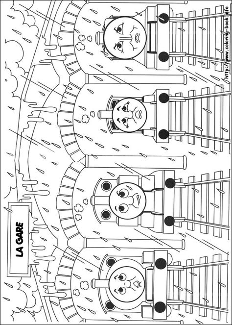 Thomas And Friends Coloring Picture Pictures To Draw