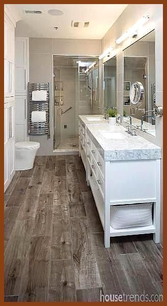 Find And Save Ideas For Bathrooms Laminate Flooring Laminate Flooring Bathroom Find In 2020 Modern Bathroom Cabinets Bathroom Remodel Master Master Bathroom Design