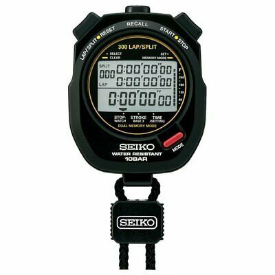 Details About Svas009 Seiko Stopwatch Swimming Master 10bar Water Resistant 300lap Split Stopwatches Stopwatch Seiko