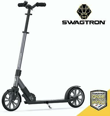 Details About Swagtron Commuter Kick Scooter For Adults Teens Foldable Lightweight W Abec 9 In 2020 With Images Kick Scooter Scooter Folding Electric Scooter