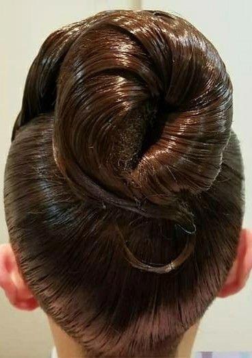 Updo Hairstyles With Weave African Americans Promhairdos Big Bun Hair Hair Styles Long Hair Styles