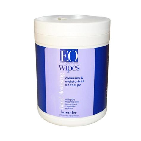Eo Products Hand Cleansing Wipes Lavender 210 Wipes Immune