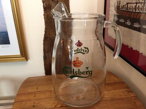 Man Cave Home Parties : Carlsberg pint jug ideal summer barbeques and parties man cave