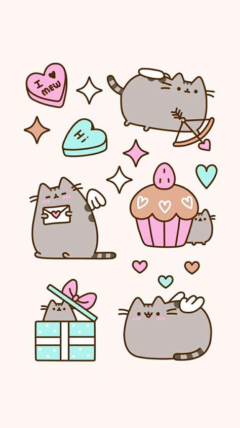 Image Dessins Mignons De Vero Hdz Du Tableau Pusheen Cat Dessin