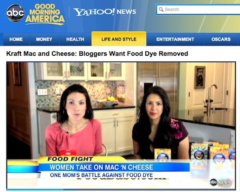 The Latest Kraft Petition TV Coverage: Dr. Oz, CNN, Fox News, NBC, and Good Morning America on http://foodbabe.com
