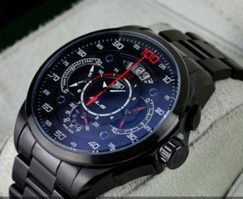 Tag Heuer Grand Carrera Mercedes Benz SLS Steel Watch – AmazingBaba