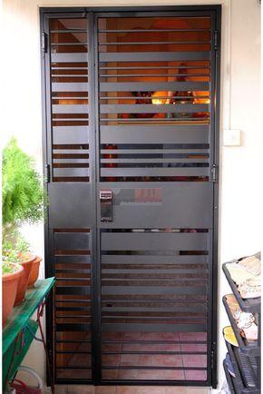 Yale Ydr 323g Digital Lock With Hdb Gate In Singapore 92220659 My Digital Lock Metal Doors Design Steel Door Design Iron Door Design