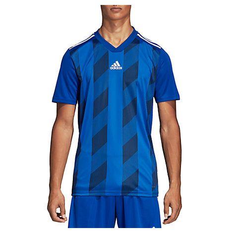 ADIDAS ORIGINALS-tops-MEN'S STRIPED 19 JERSEY, BLUE. #adidas ...