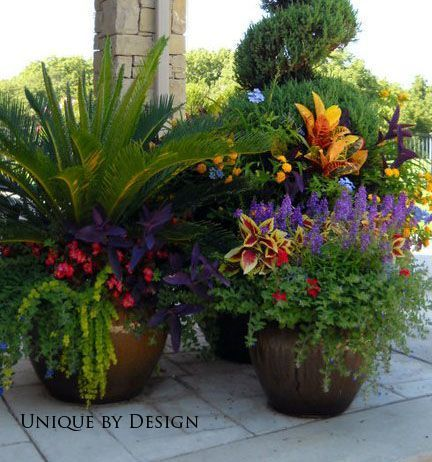 Incredible Flower Pot Ideas For Patio 30 Beautiful Container