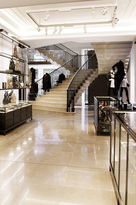 0ee5cb6c4237 Inside Burberry 121 Regent Street