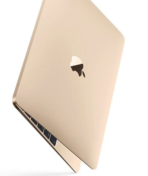 The 2015 MacBook Air gold