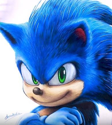 How To Draw Sonic The Hedgehog By Pencil How To Draw Sonic Hedgehog Drawing Drawings