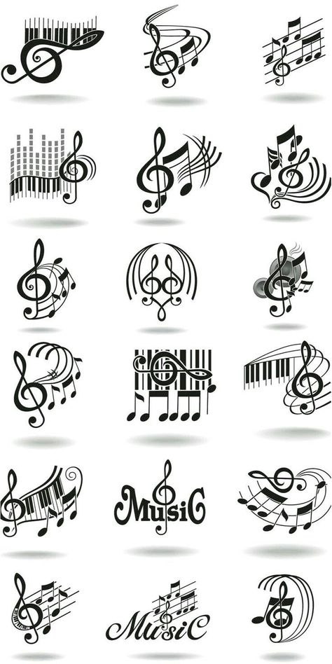 Parce que la Music Nous aime. 🎶 💙❤️💚🎵 - #music #parce - #DecorationDrawing
