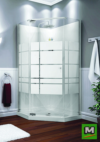 The Maax Begonia Corner Shower Kit Includes A Base Wall And