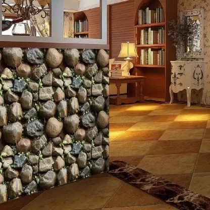 Woltop Extra Large Pvc Wall Paper Sticker Model Name Wall Stickers Wallpaper Self Adhesive Nature Rocks Stone Wallpaper Wall Stickers Wallpaper Wall Wallpaper