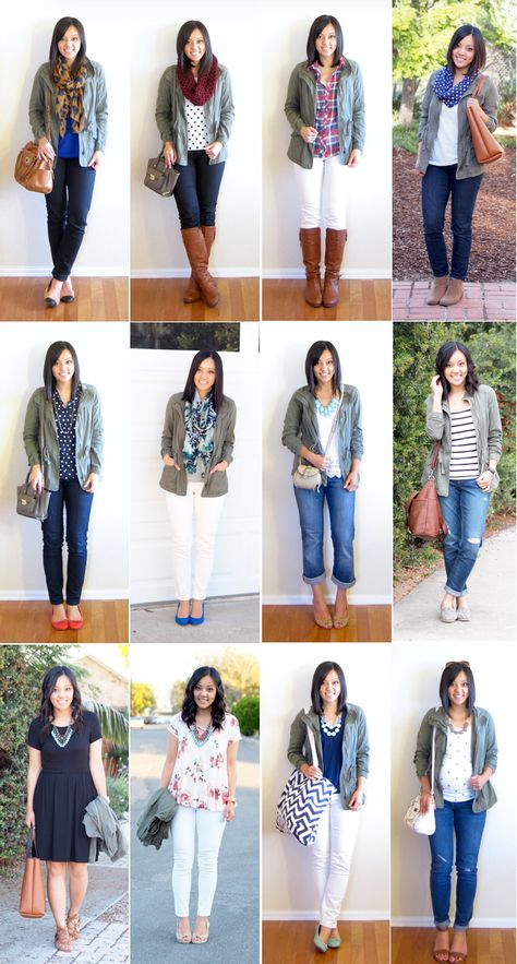 Ways to Wear a Cargo Jacket - Putting Me Together