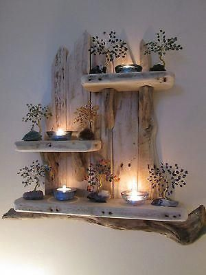 FABULOUS, AFFORDABLE AND EASY DIY DRIFTWOOD SHELVES TO